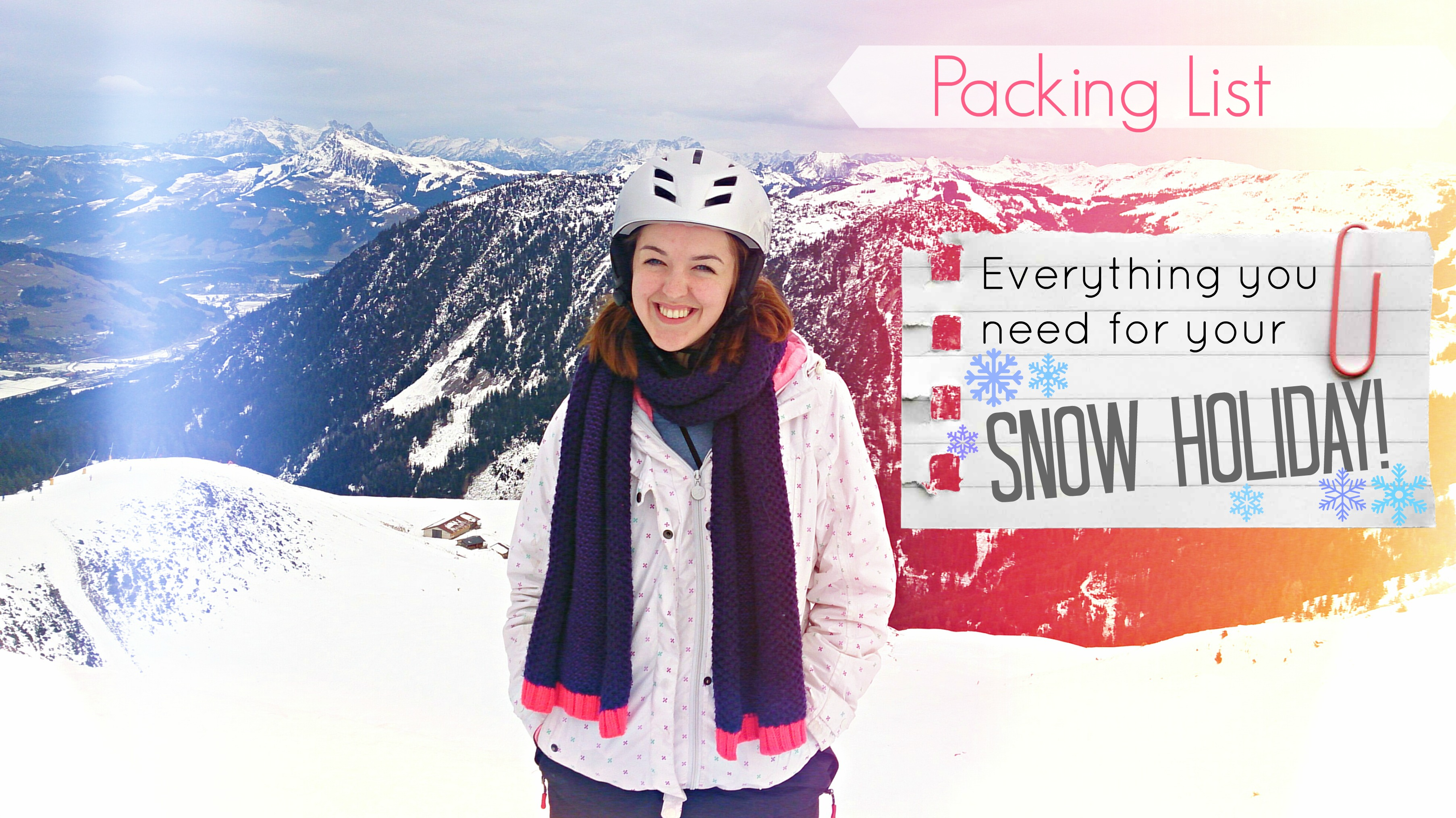 What to Pack for your Skiing Holiday – THE 10 ESSENTIALS