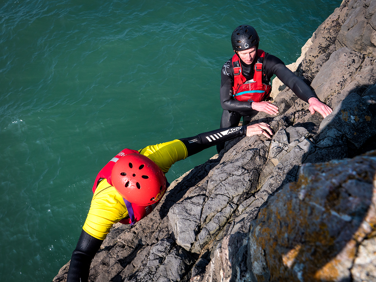 Coasteering with Gower Activity Centres | Wales